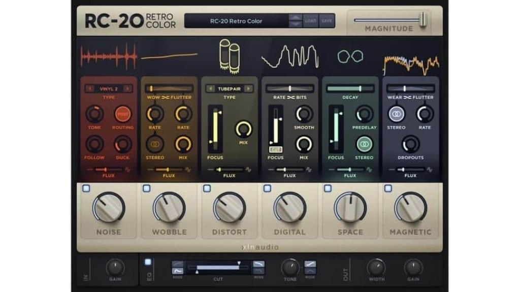 xln audio retro color