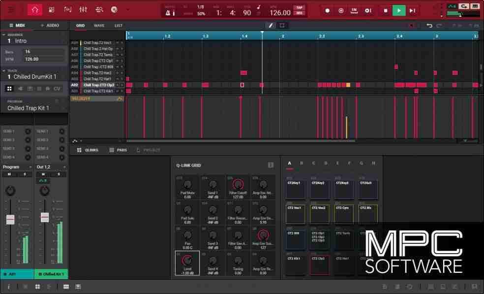 akai's mpc 2.0 software