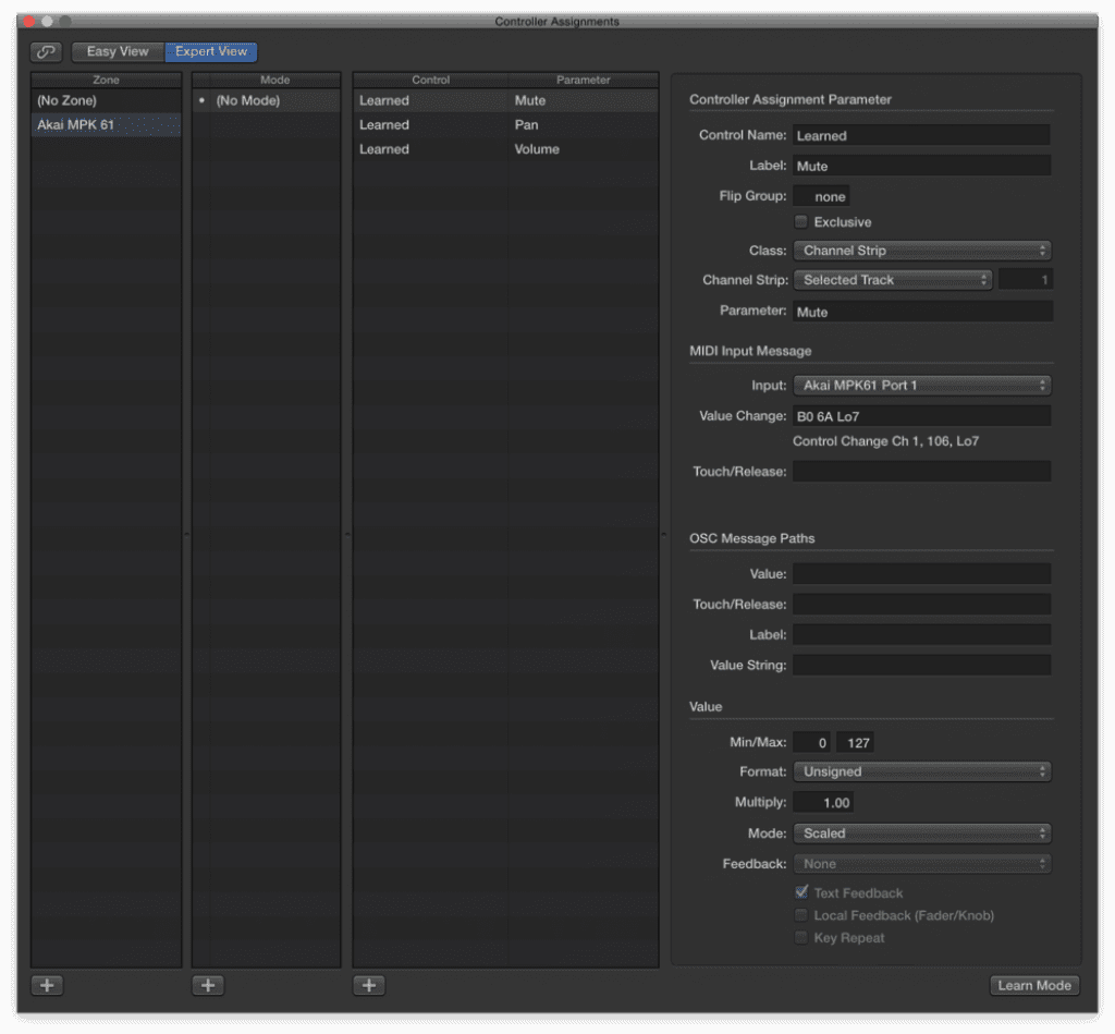 how to control anything in logic pro x