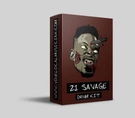 21 savage drum kit