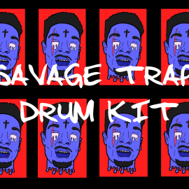 savage trap drum kit