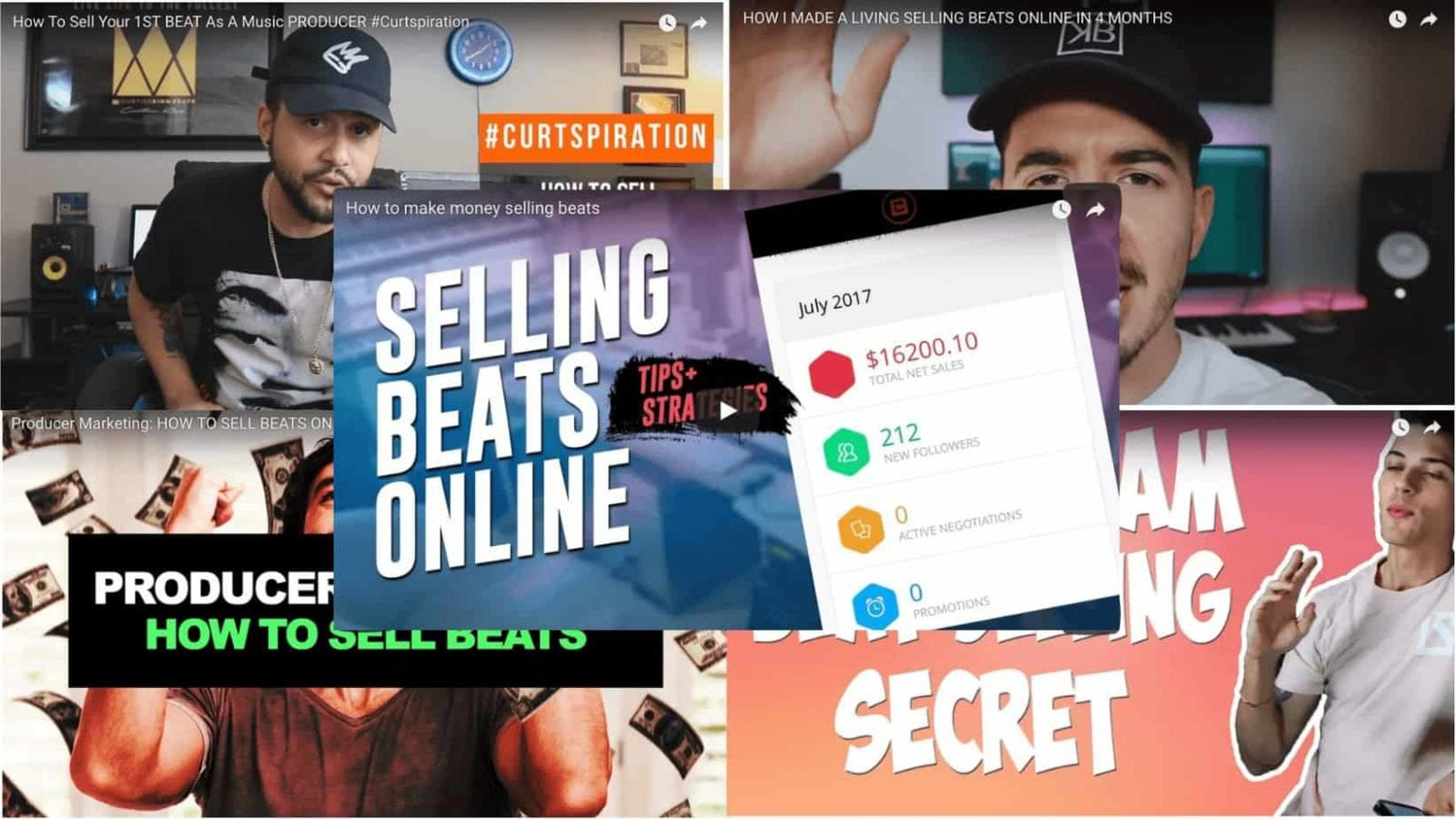 How To Sell Beats | Advice From The Elites 1