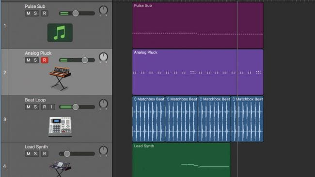 import data into logic pro x