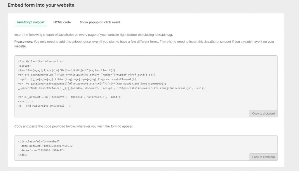 install java tracking script