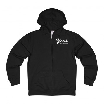 YLM Official - Unisex French Terry Zip Hoodie